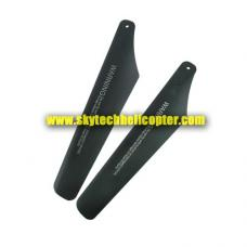 7858-3B-02 Upper Main Blade A Parts for Protocol Black Hawk Helicopter